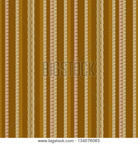 Hand drawn grunge seamless pattern. Abstract seamless pattern. Ethnic pattern. Textile vector brown. Diagonal lines