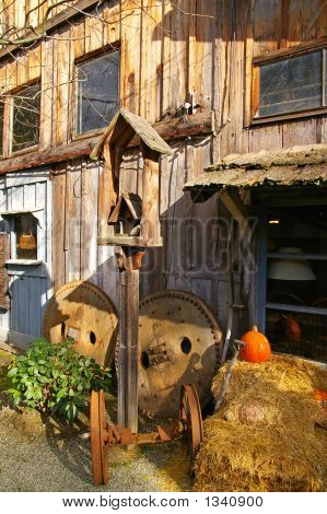 Rustic Courtyard