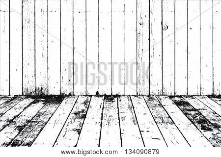 Wooden Planks distress color texture for your design. EPS10 vector.