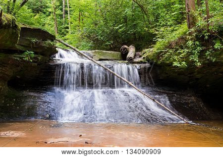 Creation Falls in Red River Gorge State Park.