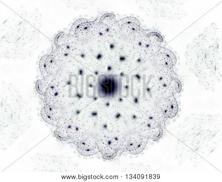 Illustration Of Gold Glittering Star Dust Circle