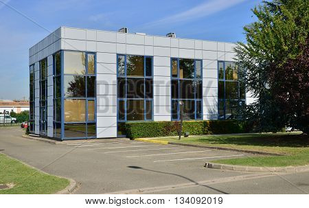 Les Mureaux France - october 26 2015 :firm in the industrial estate
