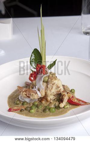 Modern Green Curry,thailand,bangkok
