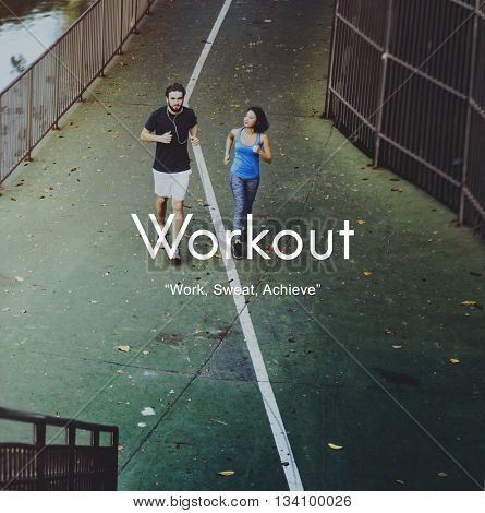 Workout Exercise Physical Activity Training Cardio Concept