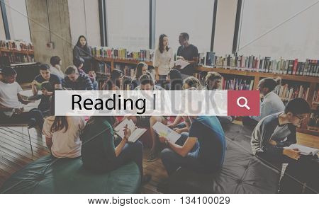 Library Reading Wisdom Knowledge Insight Intelligence Concept