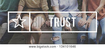 Trust Faith Honesty Belief Relationship Concept