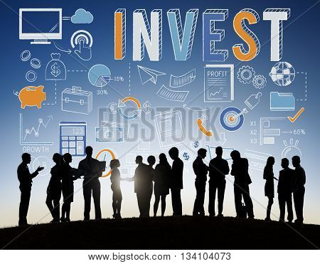 Invest Investment Finance Banking Assests Revenue Concept