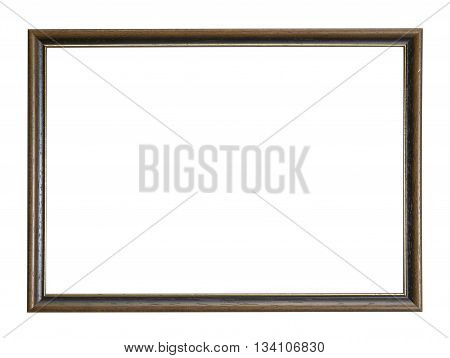 a nostalgic picture frame in white back