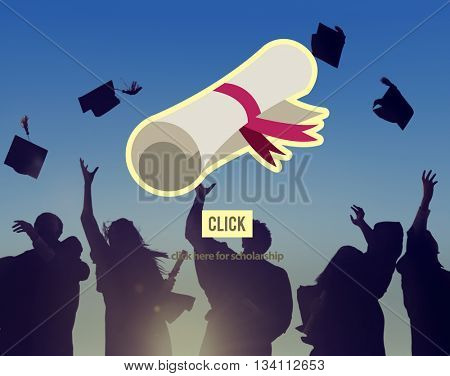 Scholarship Education Graduation Degree Concept