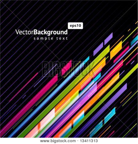 Abstract technology linesvector background