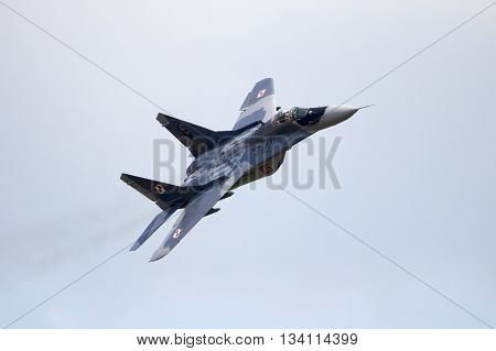 Poland Mig-29 Fighter Jet