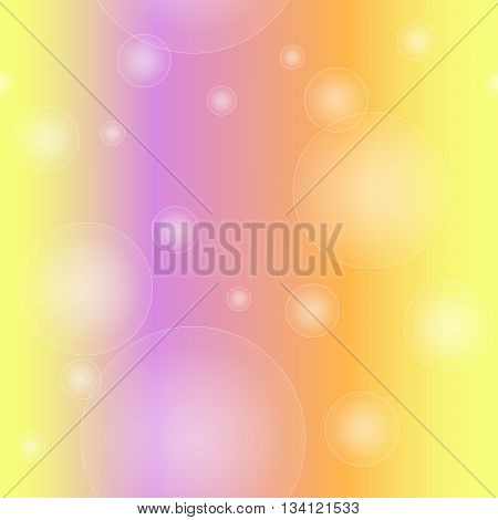 Seamless pattern of bubble  on a juicy background