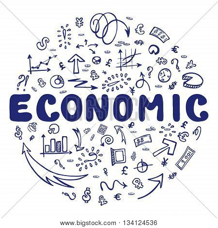 Economic Doodle Elements