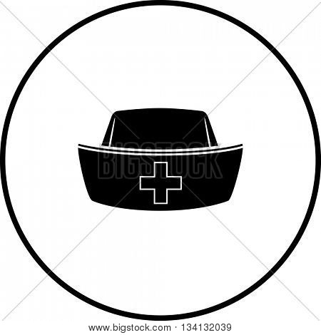 nurse hat symbol