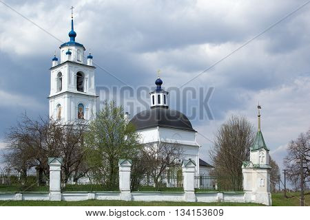 Orthodox Church Of Transfiguration In Spas, Russia