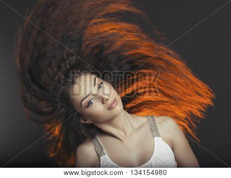 Hair Toss