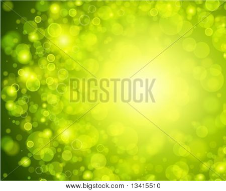 Abstract bokeh vector background. Eps 10