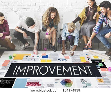 Improvement Motivation Change Better Upgrade Concept