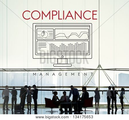 Business Compliance Regulations Standards Requirements Concept