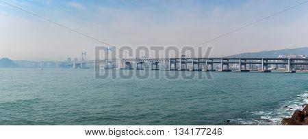 Gwangan bridge - Busan - South Korea