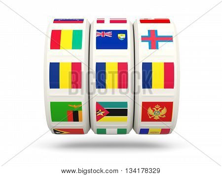Slots With Flag Of Chad