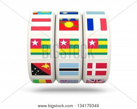 Slots With Flag Of Togo