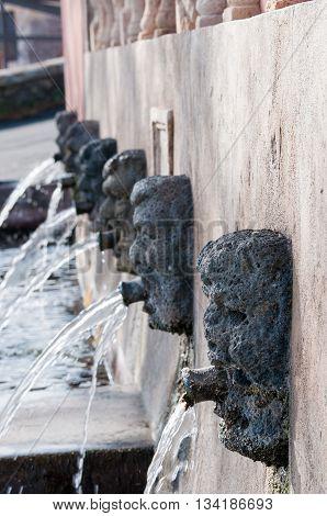 Lava Stone Fountain