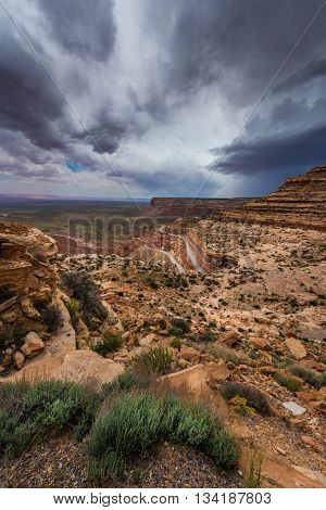 Moki Dugway Overlook