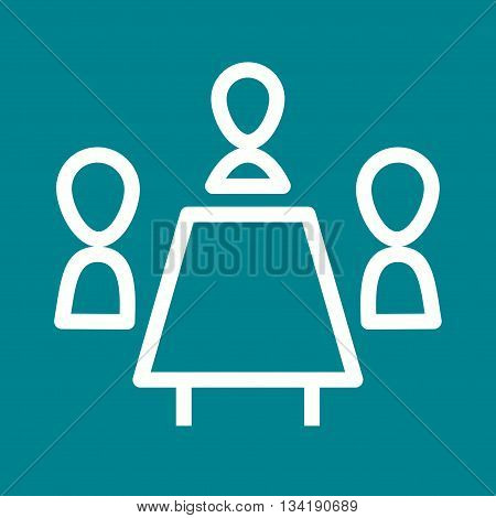 Conference, call, business icon vector image. Can also be used for customer services. Suitable for web apps, mobile apps and print media.