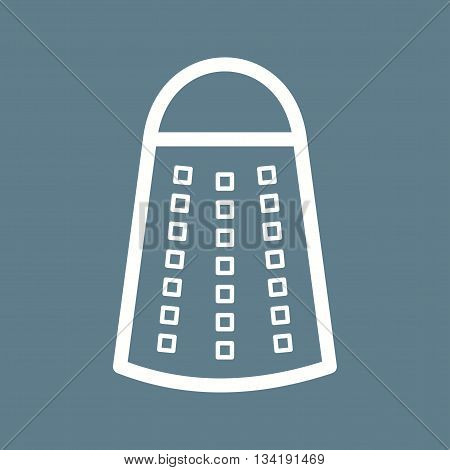Grater, kitchen, metal icon vector image.Can also be used for home. Suitable for mobile apps, web apps and print media.