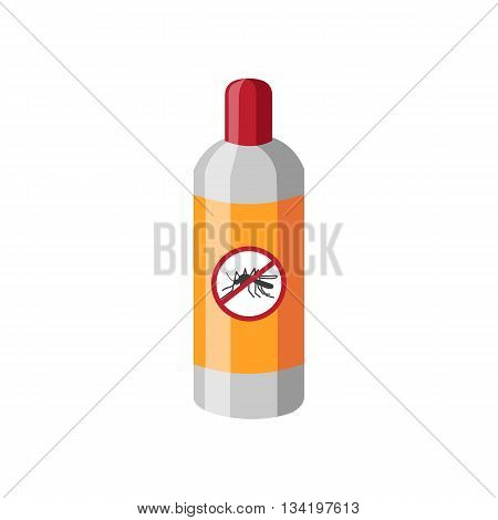 The mosquito repellent. Isolated object on a white background.