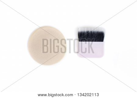 Professional Makeup Tools, Puff And Brush