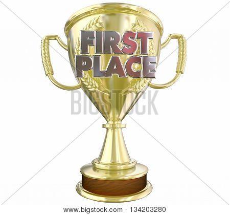 First Place 1st Top Prize Award Winner 3d Illustration