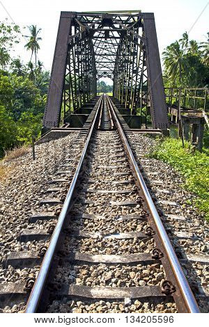 old railway bridge vintageSawi Railway Station is a railway station located in Na Pho Subdistrict Sawi District Chumphon