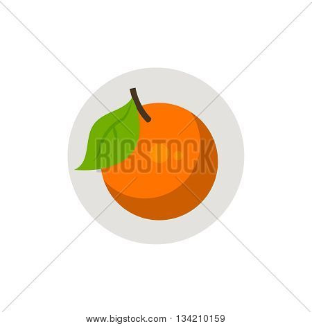 Orange icon. Orange icon flat. Orange icon art. Orange icon flat illustration. Orange icon vector. Orange icon vector image.