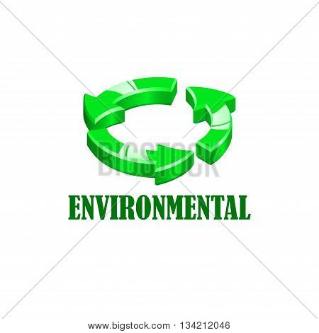 Icon of environmental conservation in various colors