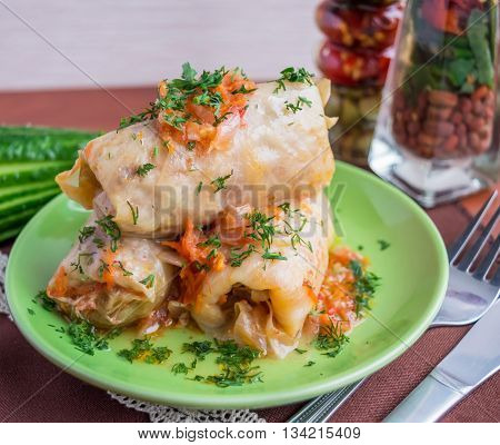 Traditional dish Eastern European cuisine
