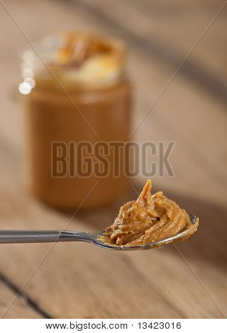 Spoon With Peanutbutter