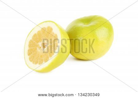 Sweetie Fruits Isolated On A White Background