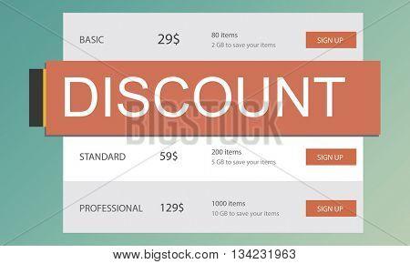 E-Commerce Sale Hot Price Discount Deal Concept