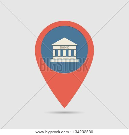 Map Pin Bank