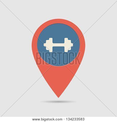 Map Pin Gym