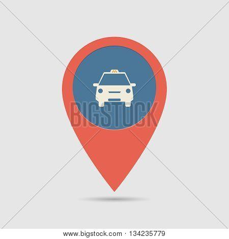Map Pin Taxi