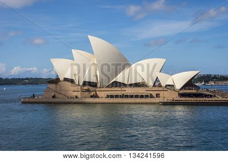 Sydney Opera House In Daylight