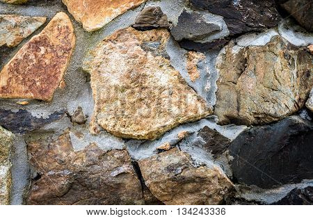 Authentic Ancient Medieval Stone Wall Texture