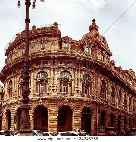 palazzo Genova architettura luoghi paesaggio vacanza relax