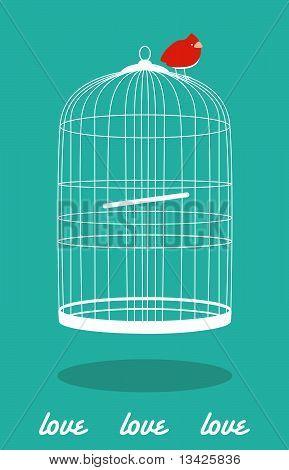 Love Cage Bird