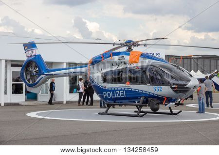 German Police Eurocopter H145 Helicopter