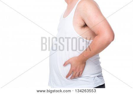 Obesity man