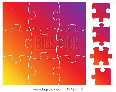Complete puzzle / jigsaw set